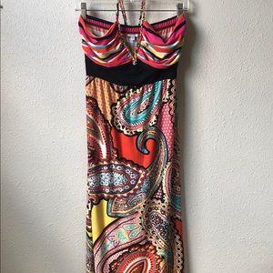 Charming Charlie Halter Top Dress Size M